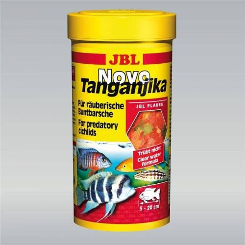 JBL NovoTanganjika Hauptfutter für Buntbarsche, 250 ml