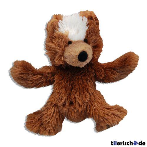 KONG Plüsch Teddy Bär für Hunde, XS, 9 cm