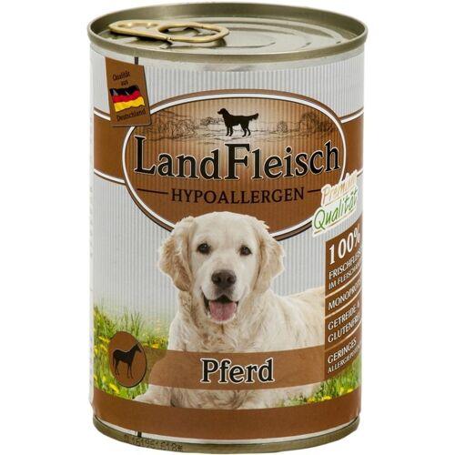 Landfleisch Hypoallergen Hundefutter, Pferd 12x400g