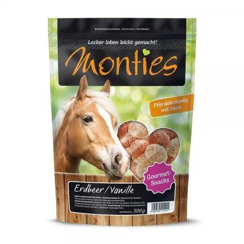 Monties Extrudierte Pferdeleckerlis, Apfel 10kg