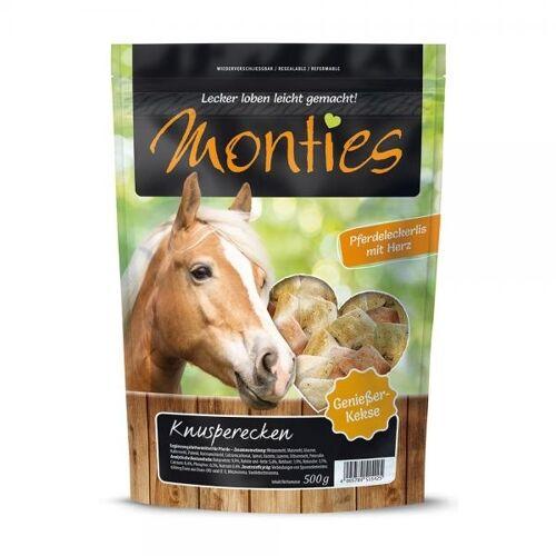 Monties Pferdeleckerlis Gebackene Kekse, 10kg