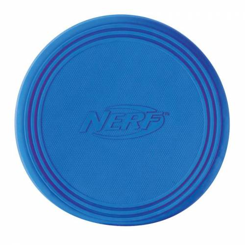 NERF Dog Rubber Flyer Frisbee für Hunde, Ø 22,9 cm