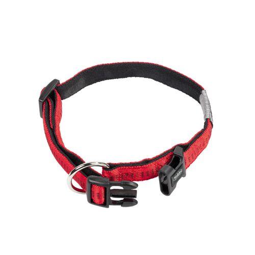 Nobby Hundehalsband Soft Grip, L: 50/65 cm; B: 25 mm, rot