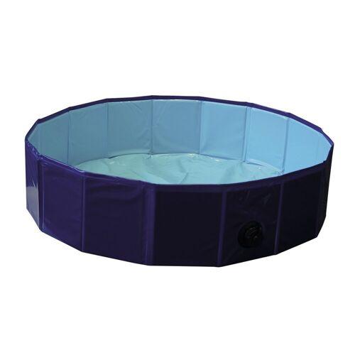 Nobby Hundepool Flexibel, S - Ø 80 x 20 cm - blau