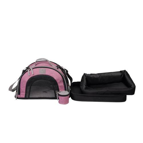Nobby Hundetasche BORNEO 3 in 1, pink
