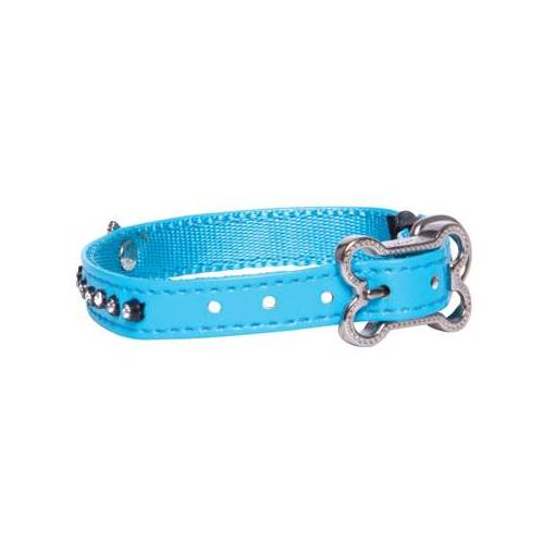 Rogz Lapz - Halsband Luna, Blue M