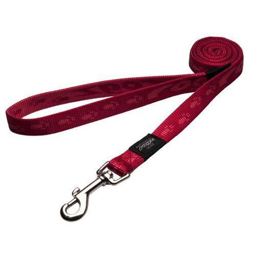 Rogz Alpinist Hundeleine, L: K2 , rot - 1,20 m
