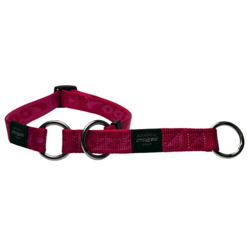 Rogz Alpinist Halsband mit Zugstopp, L: K2, pink