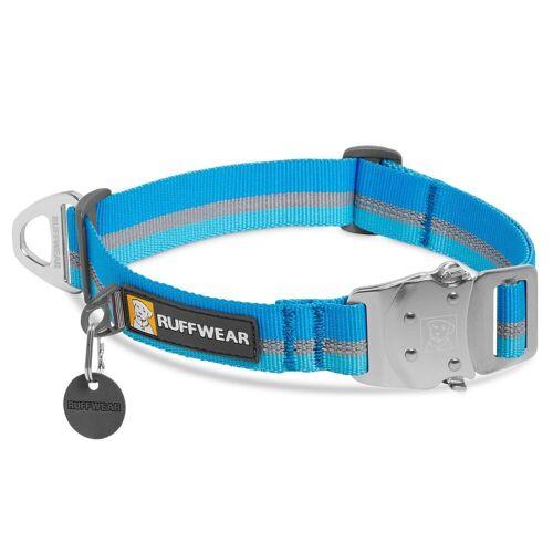 Ruffwear Top Rope™ Hundehalsband, S, 28 – 36 cm - Blue Dusk