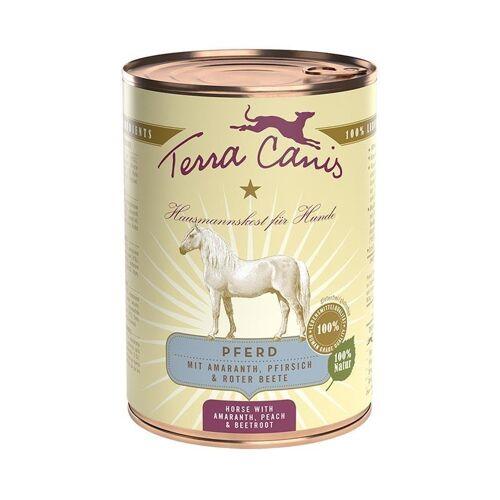 Terra Canis Nassfutter Classic, Pferd, 12 x 400g