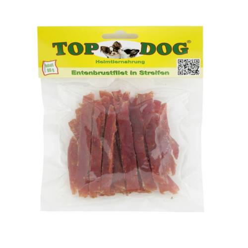 TopDog Top Dog Entenbrustfilet, 80 g (Beutel)