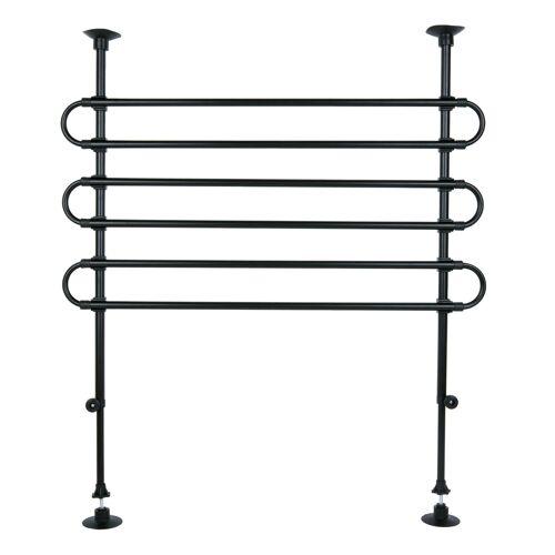 TRIXIE Hundegitter für das Auto, Breite: 85–140 cm, Höhe: 75–110 cm,  schwarz 1315