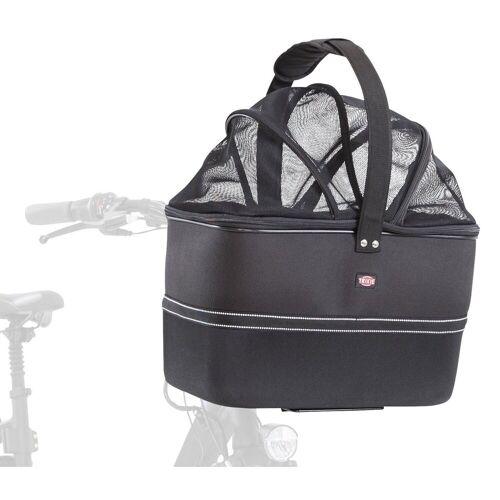 TRIXIE Lenker Front-Fahrradkorb für Hunde, 41 x 47 x 29 cm, schwarz 13108
