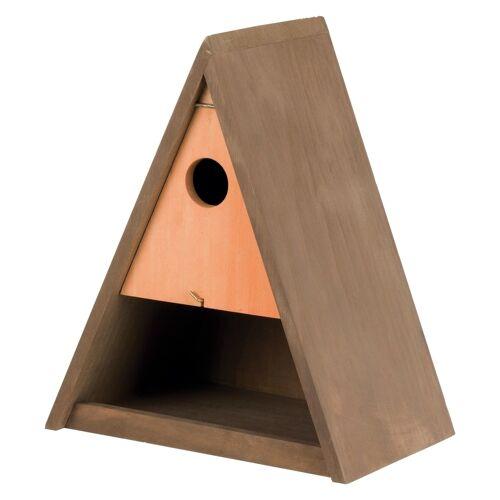 TRIXIE Vogel Futterkasten und Nistkasten, 25 × 30 × 17 cm/ø 3,5 cm 55905