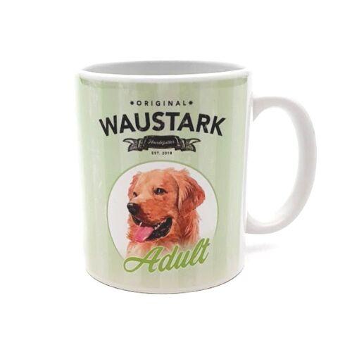 Waustark Retro Kaffeebecher, Adult, grün