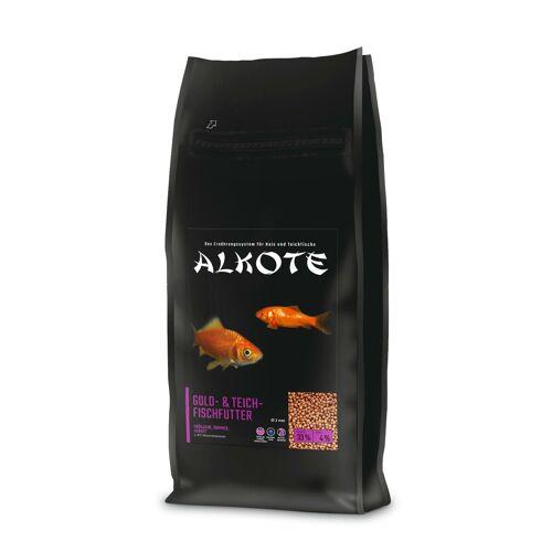 AL-KO-TE ALKOTE Goldfischfutter Teichfischfutter, Sparpack 2 x 13,5 kg 2 mm
