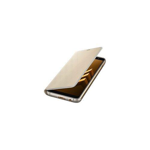 SAMSUNG Neon Flip Handy-Hülle für SAMSUNG Galaxy A8 gold