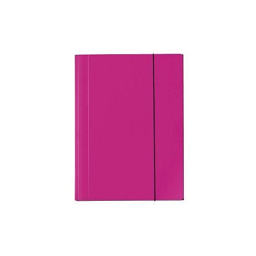 VELOFLEX Sammelmappen VELOCOLOR® DIN A4 pink