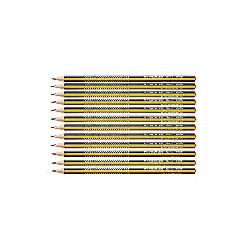 Staedtler 12 STAEDTLER Noris 183-HB Bleistifte HB