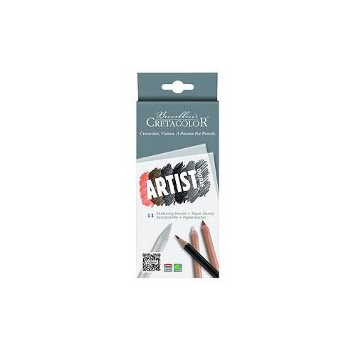 Brevillier's CRETACOLOR Brevillier's CRETACOLOR Artist Studio Drawing 101 Introduction Bleistift-Set