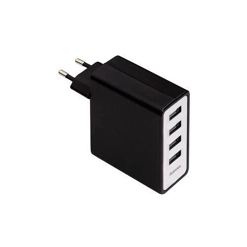 hama USB-Steckdosen-Ladeadapter