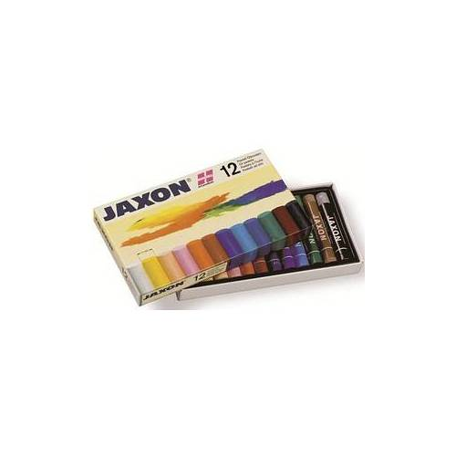 JAXON 47412 Ölkreide farbsortiert 12 St.