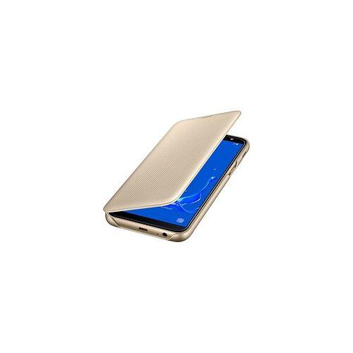SAMSUNG Wallet Cover Handy-Hülle für SAMSUNG Galaxy J6 gold