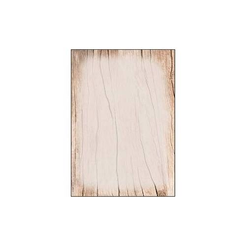 SIGEL Motivpapier Wood A4 90 g/qm