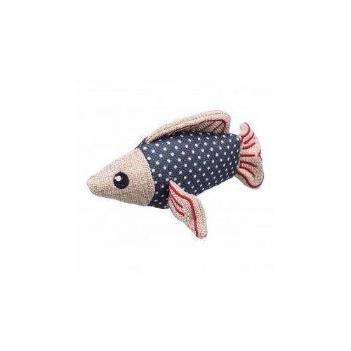 Trixie Katzenspielzeug Fisch mit Katzenminze