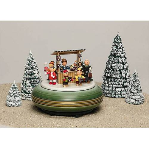 Spieldosen Erzgebirge Spieldose Weihnachtsmarkt aus dem Erzgebirge
