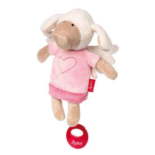 sigikid Baby Spieluhr Kuscheltier Schutzengel Schaf Sigikid mit Tasche