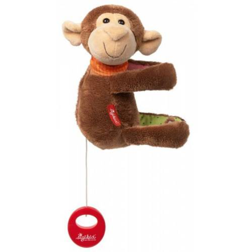 sigikid Baby Spieluhr Affe Sigikid mit Tasche
