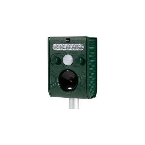 RODH Solar-Ultraschall-Tiervertreiber grün