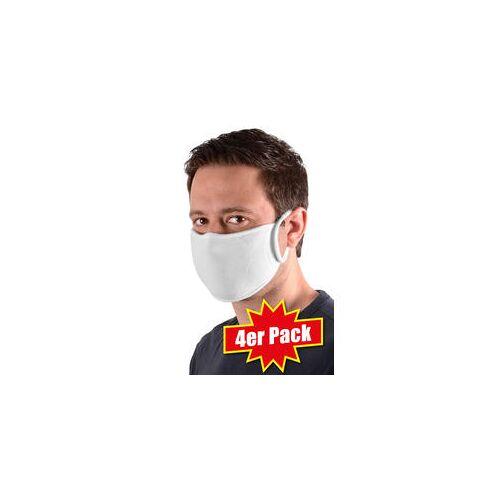 Sensomed 4er Pack waschbare Schutzmasken bunt