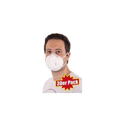 30er Pack MNS-Masken (KN95) weiß