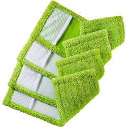 Wotrox 4er Pack Wisch-Bezüge grün