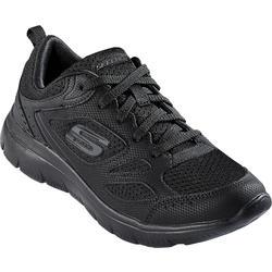 Skechers Damen Sneakers schwarz