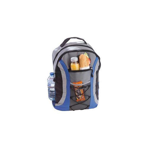 Nordcap Marken-Rucksack mit Reflektoren und großem Kühlfach schwarz