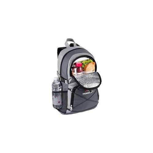 Nordcap Rucksack mit Kühlfach grau