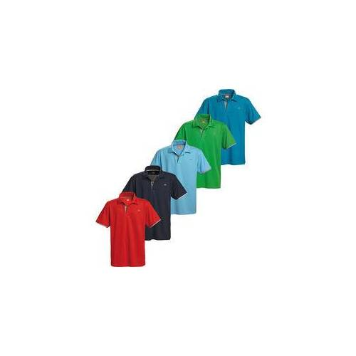 Nordcap Funktionspoloshirts 5er Pack bunt