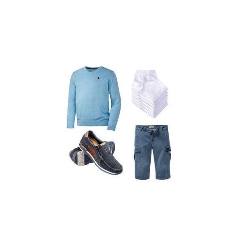 Lässiger Jeans-Look für sonnige Tage!