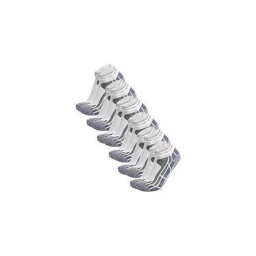 Nordcap Allround-Sportsocken kurz, 6er Pack weiß