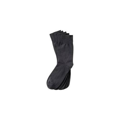 Calsana 5er Pack venenfreundliche Socken grau