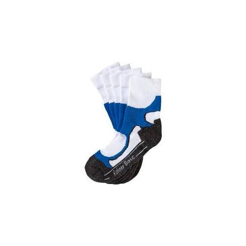 Rohner Basic Rohner 5er Pack Walking-Socken weiß