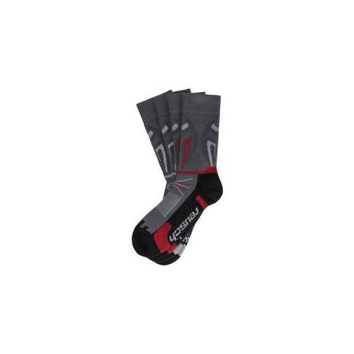 Reusch 2er Pack Trekking-Socken mit Mückenschutz gemischt