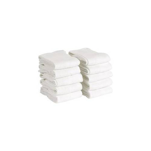 Staff Only antibakterielle Socken 10er Pack weiß