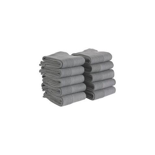 Staff Only antibakterielle Socken 10er Pack grau