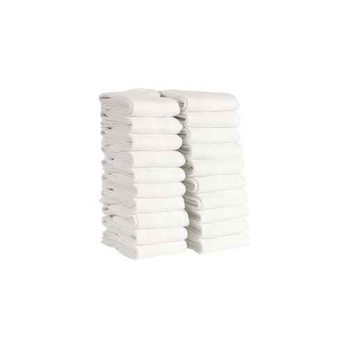 Staff Only Antibakterielle Socken, 20er Pack weiß