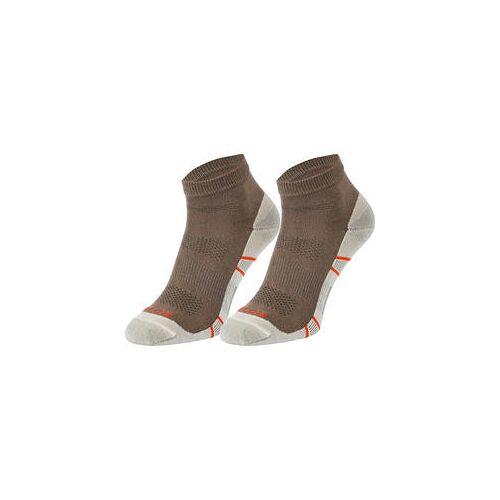 GEOX 2er Pack Herren Sneaker-Socken khaki