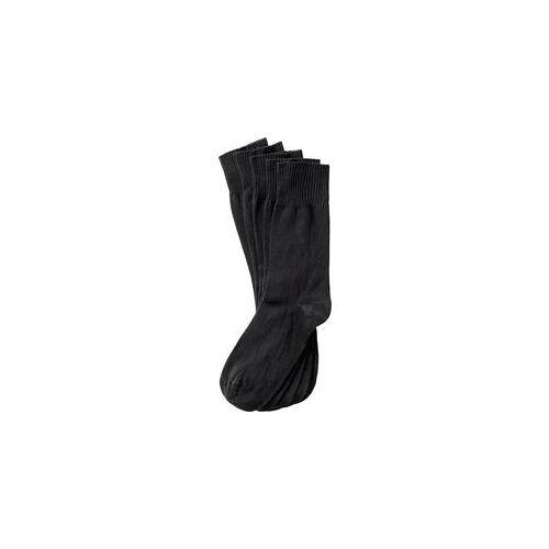 Calsana 5er Pack venenfreundliche Socken schwarz